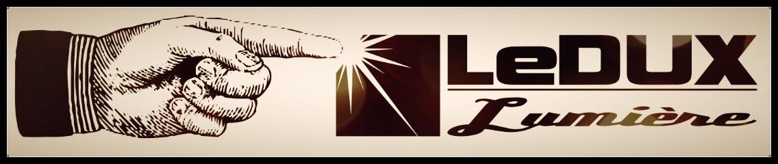 LeDux Lumiere Logo Finger touch