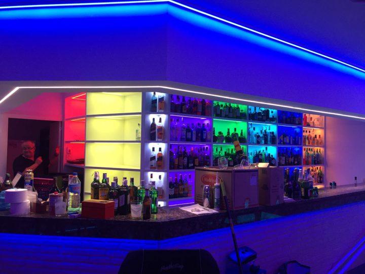 Le Color Color Bar, Vidéo Eclairage Dynamique.