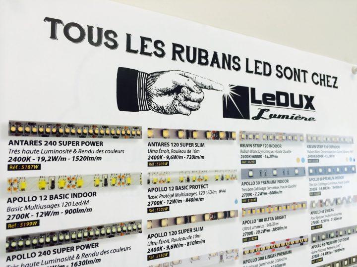 Tous les Rubans LED !    (enfin…. presque tous)