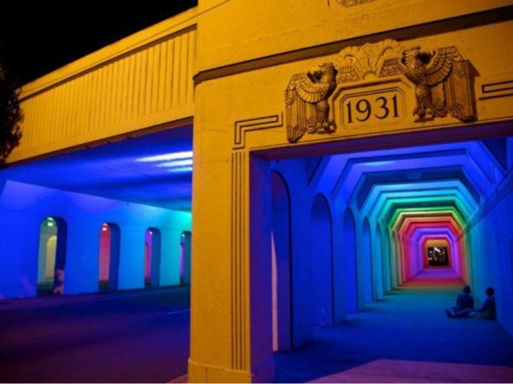 Eclairage Dynamique RGB dans un tunnel