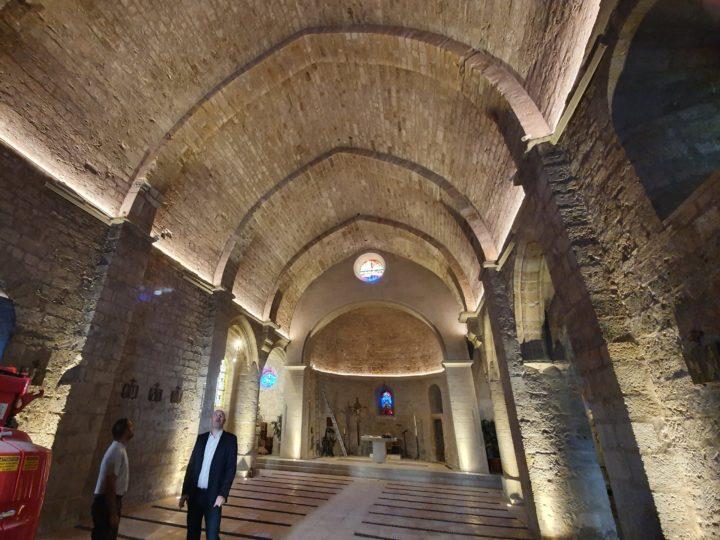 Eclairage Linéaire pour Eglise